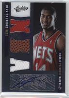 Rookie Premiere Materials NBA Signatures - Derrick Favors #/499