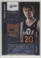 Rookie Premiere Materials NBA Signatures - Gordon Hayward #/499