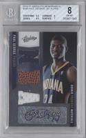 Rookie Premiere Materials NBA Signatures - Paul George /499 [BGS 8]