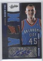 Rookie Premiere Materials NBA Signatures - Cole Aldrich /499