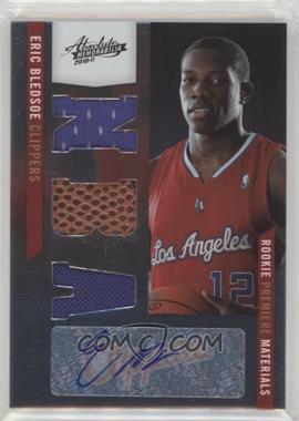 2010-11 Absolute Memorabilia - [Base] #168 - Rookie Premiere Materials NBA Signatures - Eric Bledsoe /499