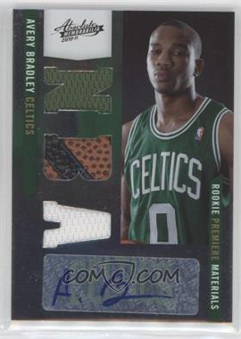 2010-11 Absolute Memorabilia - [Base] #169 - Rookie Premiere Materials NBA Signatures - Avery Bradley /499