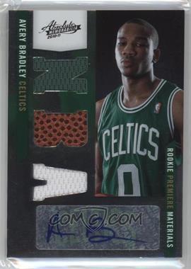 2010-11 Absolute Memorabilia - [Base] #169 - Rookie Premiere Materials NBA Signatures - Avery Bradley /499