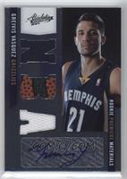 Rookie Premiere Materials NBA Signatures - Greivis Vasquez #/499