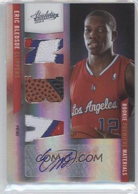 2010-11 Absolute Memorabilia - Rookie Premier Materials - NBA Spectrum Prime Signatures #168 - Eric Bledsoe /5