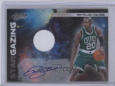 2010-11 Absolute Memorabilia - Star Gazing - Autograph Materials #32 - Ray Allen /10