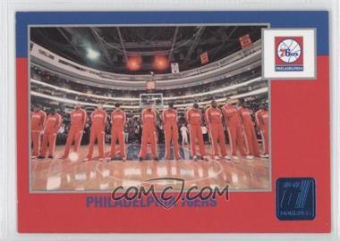 2010-11 Donruss - [Base] - Sapphire Die-Cut #266 - Philadelphia 76ers /49