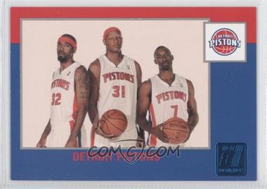 2010-11 Donruss - [Base] - Sapphire Die-Cut #270 - Detroit Pistons /49