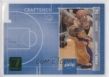 2010-11 Donruss - Craftsmen - Emerald Die-Cut #1 - Kobe Bryant