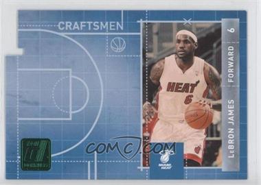 2010-11 Donruss - Craftsmen - Emerald Die-Cut #3 - Lebron James