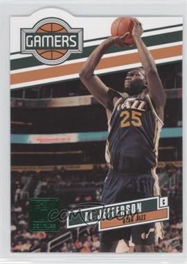 2010-11 Donruss - Gamers - Emerald Die-Cut #10 - Al Jefferson