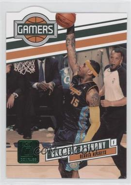 2010-11 Donruss - Gamers - Emerald Die-Cut #14 - Carmelo Anthony