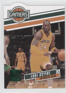 2010-11 Donruss - Gamers - Emerald Die-Cut #2 - Kobe Bryant