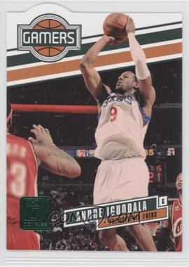 2010-11 Donruss - Gamers - Emerald Die-Cut #24 - Andre Iguodala