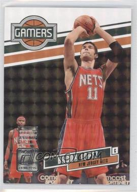 2010-11 Donruss - Gamers - Press Proof #6 - Brook Lopez /100