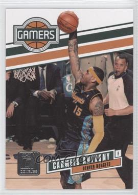 2010-11 Donruss - Gamers #14 - Carmelo Anthony /999