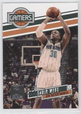 2010-11 Donruss - Gamers #16 - David West /999