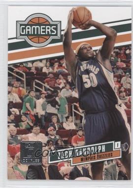 2010-11 Donruss - Gamers #17 - Zach Randolph /999