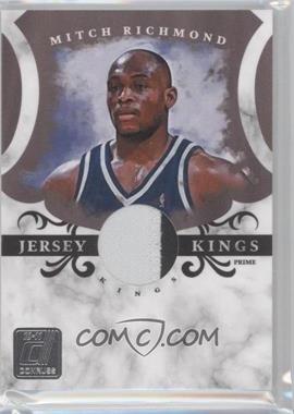 2010-11 Donruss - Jersey Kings - Materials Prime [Memorabilia] #20 - Mitch Richmond /49