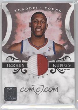2010-11 Donruss - Jersey Kings - Materials Prime [Memorabilia] #8 - Thaddeus Young /49
