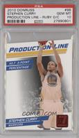 Stephen Curry /25 [PSA 10]