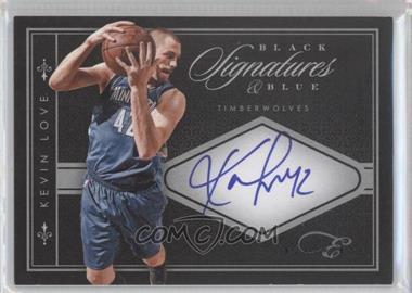 2010-11 Elite Black Box - Black & Blue Signatures - [Autographed] #11 - Kevin Love /40