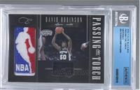 David Robinson, Andrew Bynum /99 [BGS AUTHENTIC]