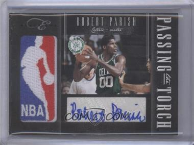 2010-11 Elite Black Box - Passing the Torch - Signatures [Autographed] #24 - Robert Parish, Marcus Camby /99