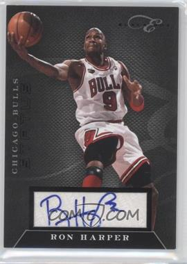 2010-11 Elite Black Box - Status - Signatures [Autographed] #149 - Ron Harper /149