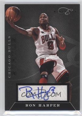 2010-11 Elite Black Box - Status - Signatures [Autographed] #149 - Ron Harper /149