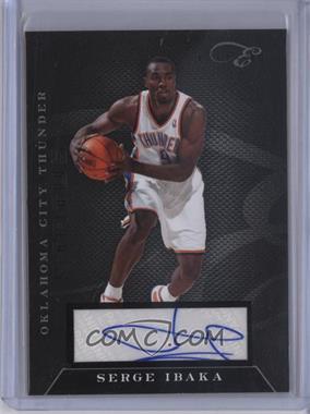 2010-11 Elite Black Box - Status - Signatures [Autographed] #35 - Serge Ibaka /149