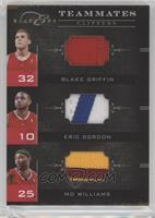 Mo Williams, Blake Griffin, Eric Gordon /49