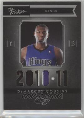 2010-11 Elite Black Box - The Rookies - Prime Memorabilia #3 - DeMarcus Cousins /99