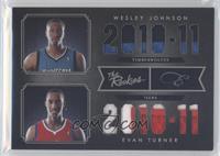 Evan Turner, Wesley Johnson #/25