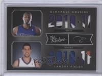 DeMarcus Cousins, Landry Fields /25