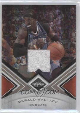 2010-11 Limited - [Base] - Materials #39 - Gerald Wallace /199