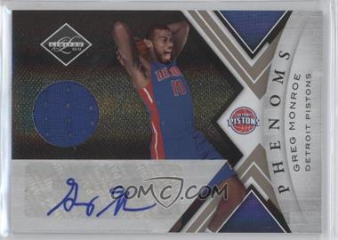 2010-11 Limited - [Base] #171 - Greg Monroe /249