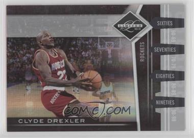 2010-11 Limited - Decade Dominance - Spotlight Silver #16 - Clyde Drexler /49 [Noted]
