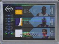 Kobe Bryant, Lamar Odom, Pau Gasol #/10