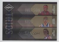 Allen Iverson, Jason Kidd, Steve Nash #/24