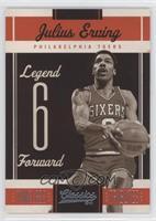 Legends - Julius Erving #/25