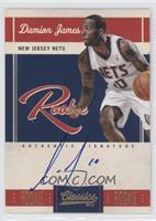 Rookie Signatures - Damion James #/699