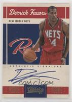 Rookie Signatures - Derrick Favors #/299