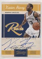 Rookie Signatures - Xavier Henry #/449