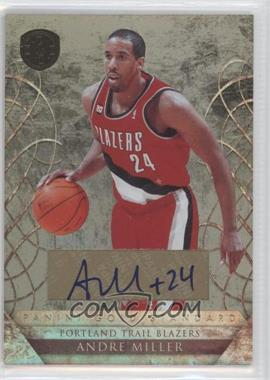 2010-11 Panini Gold Standard - [Base] - Signatures [Autographed] #144 - Andre Miller /199