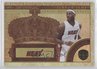 2010-11 Panini Gold Standard - Gold Crowns #15 - Lebron James /299