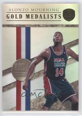 2010-11 Panini Gold Standard - Gold Medalists #19 - Alonzo Mourning /299