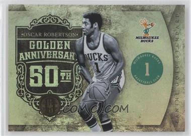 2010-11 Panini Gold Standard - Golden Anniversary #6 - Oscar Robertson /299