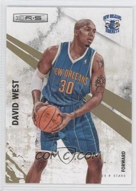 2010-11 Panini Rookies & Stars - [Base] - Gold #63 - David West /499
