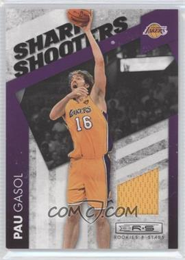 2010-11 Panini Rookies & Stars - Sharp Shooters - Materials [Memorabilia] #11 - Pau Gasol /99